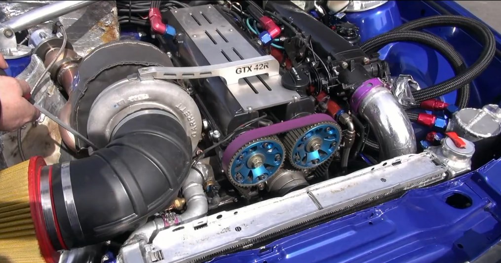 1100HP 2JZ swapped BMW E30 M3