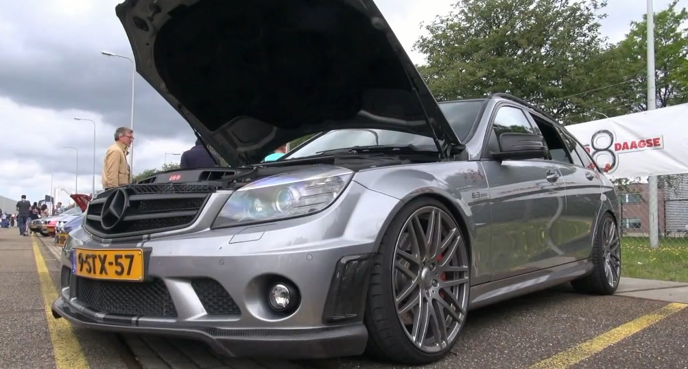 Supercharged Mercedes C63 AMG Estate