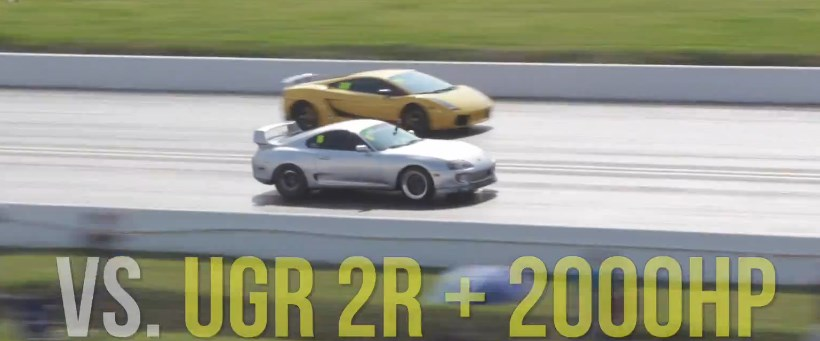 2JZ monster takes down 2000hp cars!