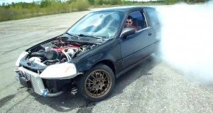 Honda Civic EK9 RWD conversion