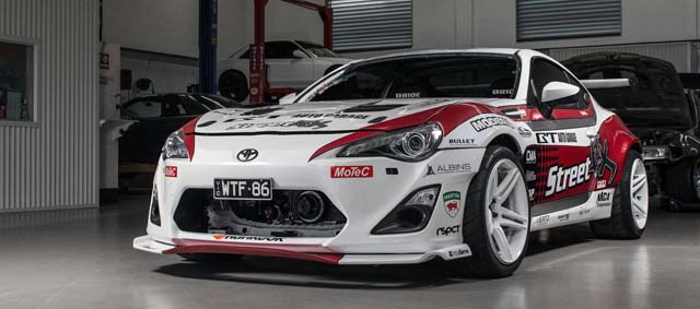 Toyota Drift Car Powered By Hks Stroker Gt